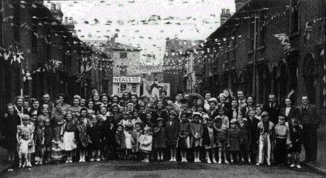 Clarendon St Coronation party 1953
