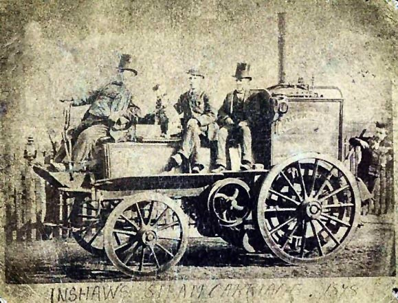 The Inshaw Steam Carriage