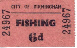 Fishing Ticket